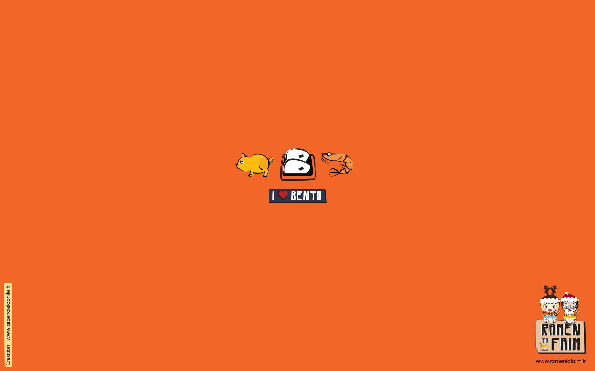 Fond d'écran 16-9  Bento